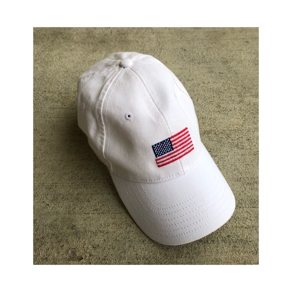 8a903b8f23f Harding Lane Accessories - SALE!! NEW‼ Harding Land White American Flag Hat